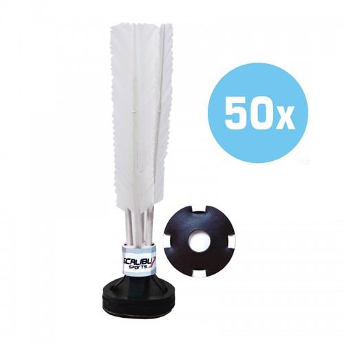 Kit c/50 Petecas Scalibu Standard