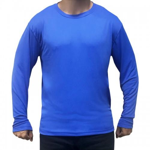 Camisa Proteção UV50 Praia Adulto Manga Longa