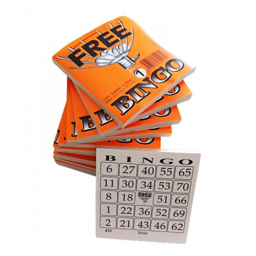 Bloco Cartelas p/ Bingo