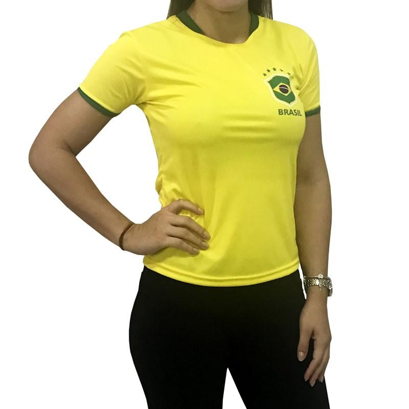 Baby Look Brasil Alusiva