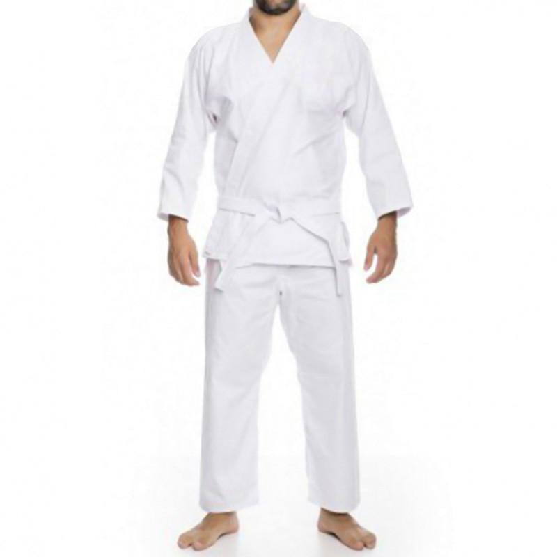 Kimono Judô Kime Adulto Branco Brim