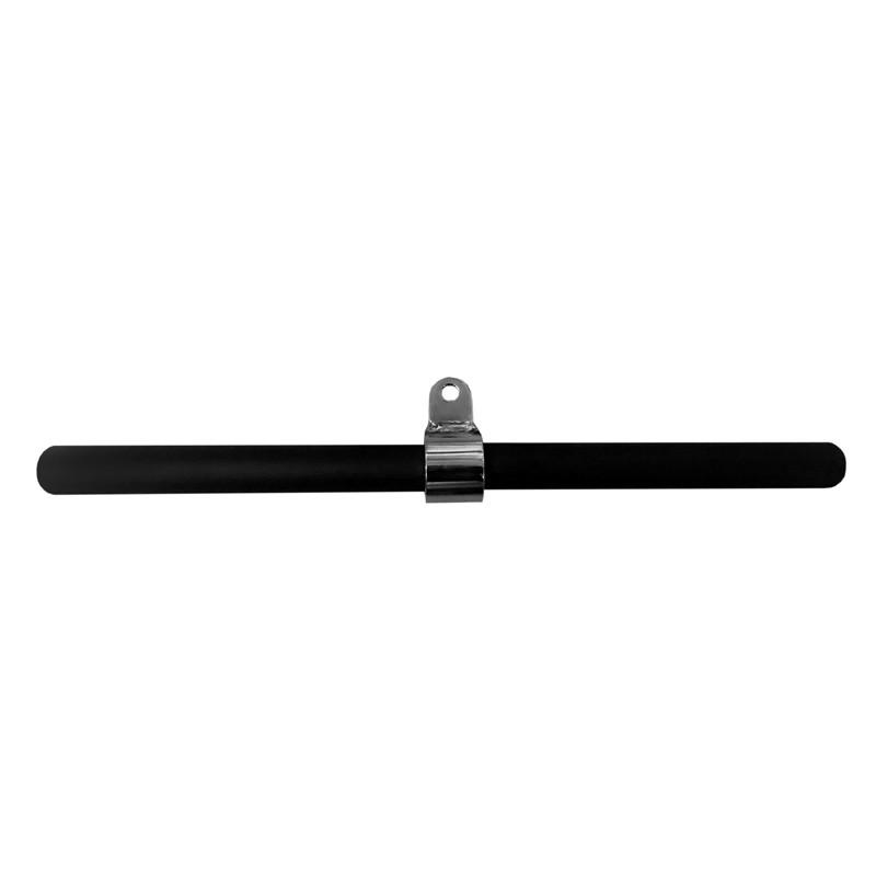 Puxador Triceps Reto c/ Rolamento 54cm Texturizado