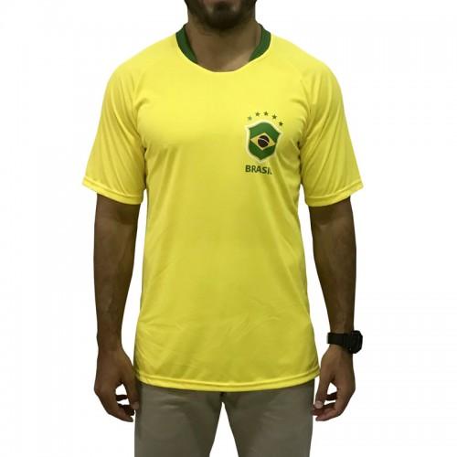 Camisa Brasil Adulto Alusiva
