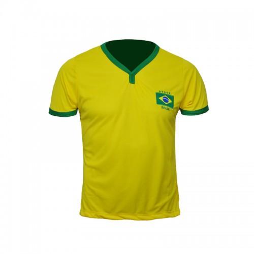 Camisa Brasil Bordada Infantil Lince