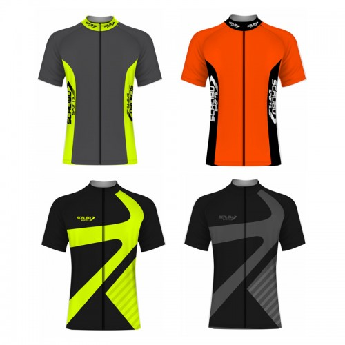 Kit c/10 Camisas Bike Racer Scalibu Manga Curta Drytech