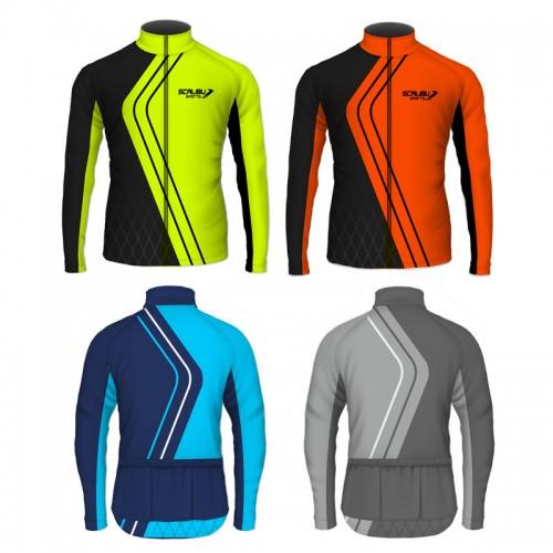 Kit c/10 Camisas Bike Speed Scalibu Manga Longa Drytech
