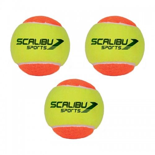 Kit c/3 Bolas Beach Tennis Scalibu